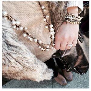 Stella & Dot- Gabrielle pearl necklace
